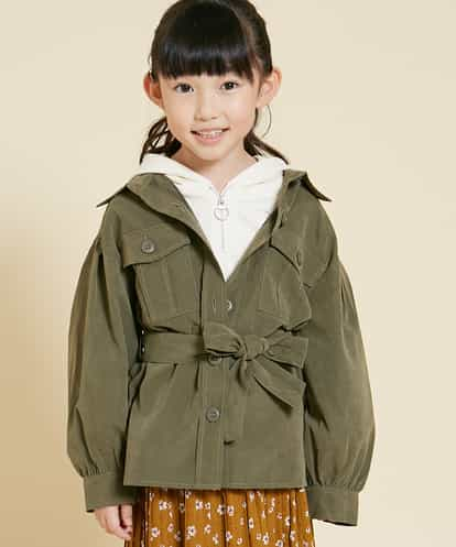 a.v.v(アー・ヴェ・ヴェ) [100-130]CPOシャツジャケット[WEB限定サイズ] カーキ 130