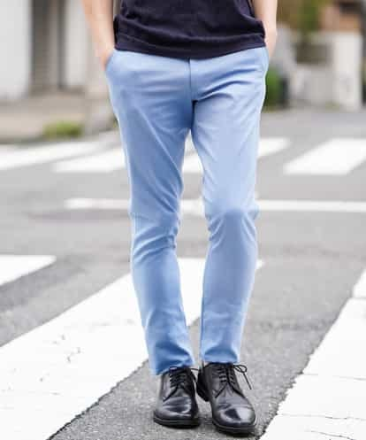 MK MICHEL KLEIN HOMME(エムケー ミッシェルクラン オム) パンツ(アメリカンオックス) ブルー 50