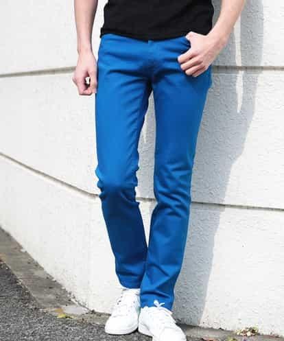 MICHEL KLEIN HOMME(ミッシェルクラン オム) パンツ(ファクトリエコラボパンツ) ブルー 48