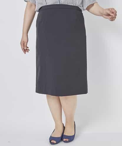 eur3(エウルキューブ) 【大きいサイズ】【セットアップ】歩きやすいタイトスカート ブラック 15