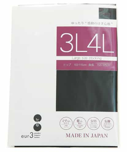 eur3(エウルキューブ) ラージサイズストッキング ブラック 17