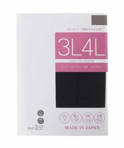 eur3(エウルキューブ) 【大きいサイズ】【Free Fit】シアータイツ ブラック 15