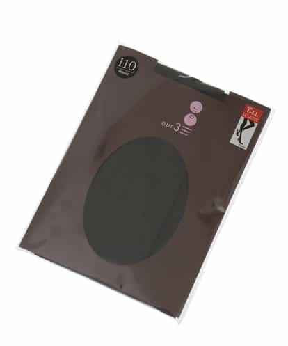 eur3(エウルキューブ) 【大きいサイズ】カラータイツ ダークグレー 13