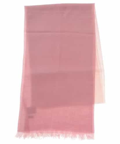 CHRISTIAN AUJARD(クリスチャン・オジャール) グラデーションカラーウールストール ピンク 9