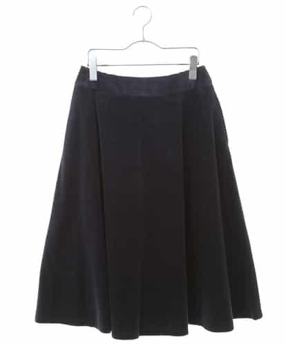 HIROKO BIS(ヒロコビス) 【洗える】コーデュロイフレアスカート ネイビー 7