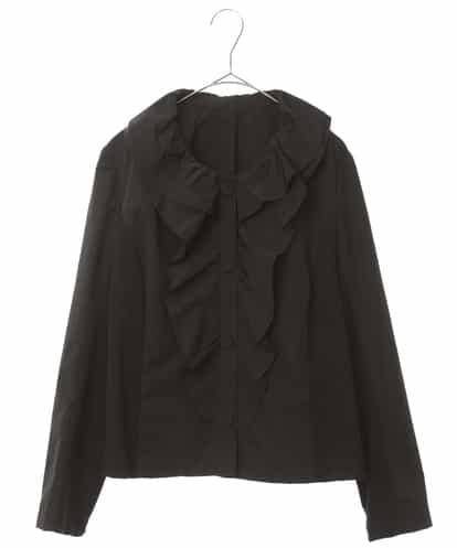 HIROKO BIS(ヒロコビス) 【洗える】ハビットデザインショートジャケット ブラック 11