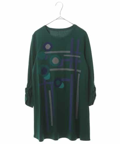 HIROKO BIS(ヒロコビス) 【洗える】コットンスムースチュニック グリーン 11