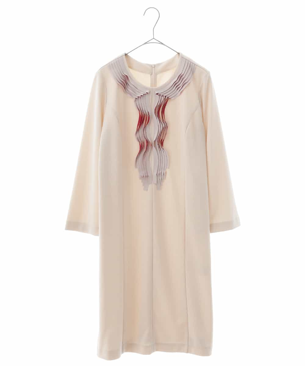HIROKO BIS(ヒロコビス)【洗える】クラフトジャージードレス