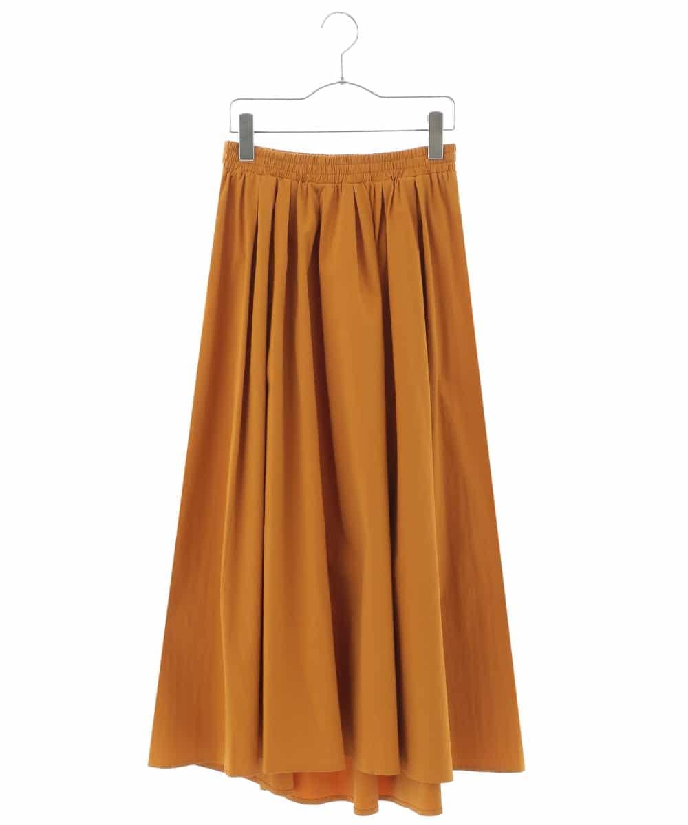 HIROKO BIS(ヒロコビス)【洗濯機で洗える】ボリュームロングスカート