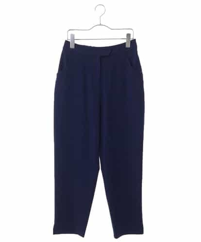 HIROKO BIS(ヒロコビス) 【洗濯機で洗える】ステッチテーパードパンツ ネイビー 11