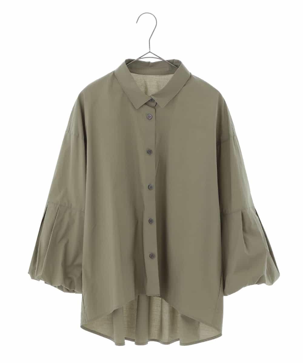 HIROKO BIS GRANDE(ヒロコビス ブランデ)【洗濯機で洗える】ボリュームスリーブブラウス