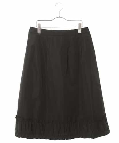 HIROKO BIS GRANDE(ヒロコビス ブランデ) 【洗濯機で洗える】フリルギャザーミディスカート ブラック 13