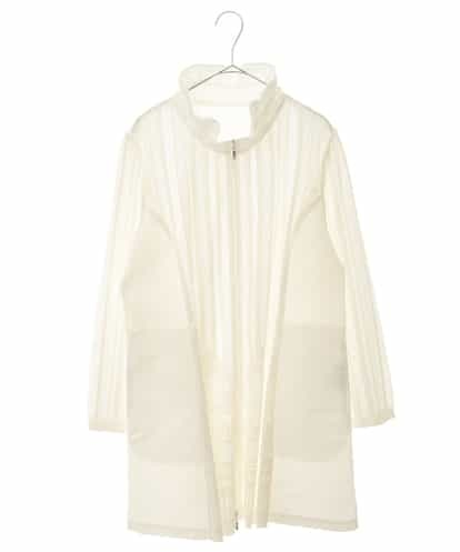 HIROKO BIS GRANDE(ヒロコビス ブランデ) 【洗濯機で洗える/日本製】プリモーディアル ジャケット ホワイト 15