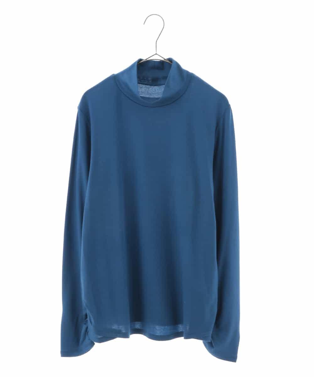 HIROKO BIS GRANDE(ヒロコビス ブランデ)【洗濯機で洗える/テンセル混】シャーリングカットソー