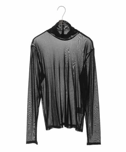 HIROKO BIS GRANDE(ヒロコビス ブランデ) 【洗濯機で洗える】ストレッチチュールカットソー ブラック 15