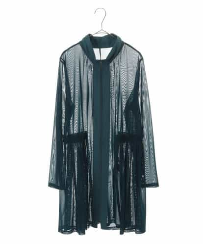 HIROKO BIS GRANDE(ヒロコビス ブランデ) 【洗濯機で洗える】サモーラチュール カーディガン グリーン 17