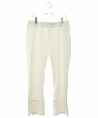 HIROKO BIS GRANDE(ヒロコビス ブランデ) 【洗濯機で洗える/日本製】クロップ丈レギンスパンツ ホワイト 13