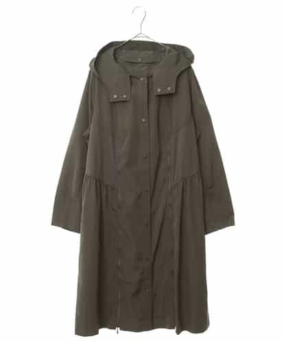 HIROKO BIS GRANDE(ヒロコビス ブランデ) 【洗濯機で洗える】ポリタフタライトコート カーキ 15