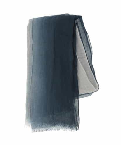 HIROKO BIS(ヒロコビス) 【洗える】オンブレーストール ネイビー 9