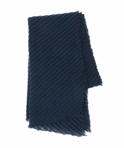 HIROKO BIS(ヒロコビス) 【洗える】 プリーツマフラー ブルー 9