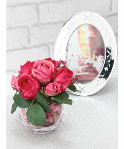 EMILIO ROBBA(エミリオ・ロバ) ポプリアレンジ(ローズの香り) ピンク フリーサイズ