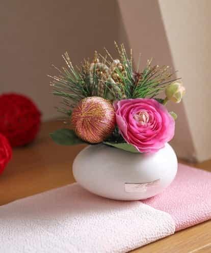 EMILIO ROBBA(エミリオ・ロバ) 【迎春】ラナンキュラス ピンク フリーサイズ