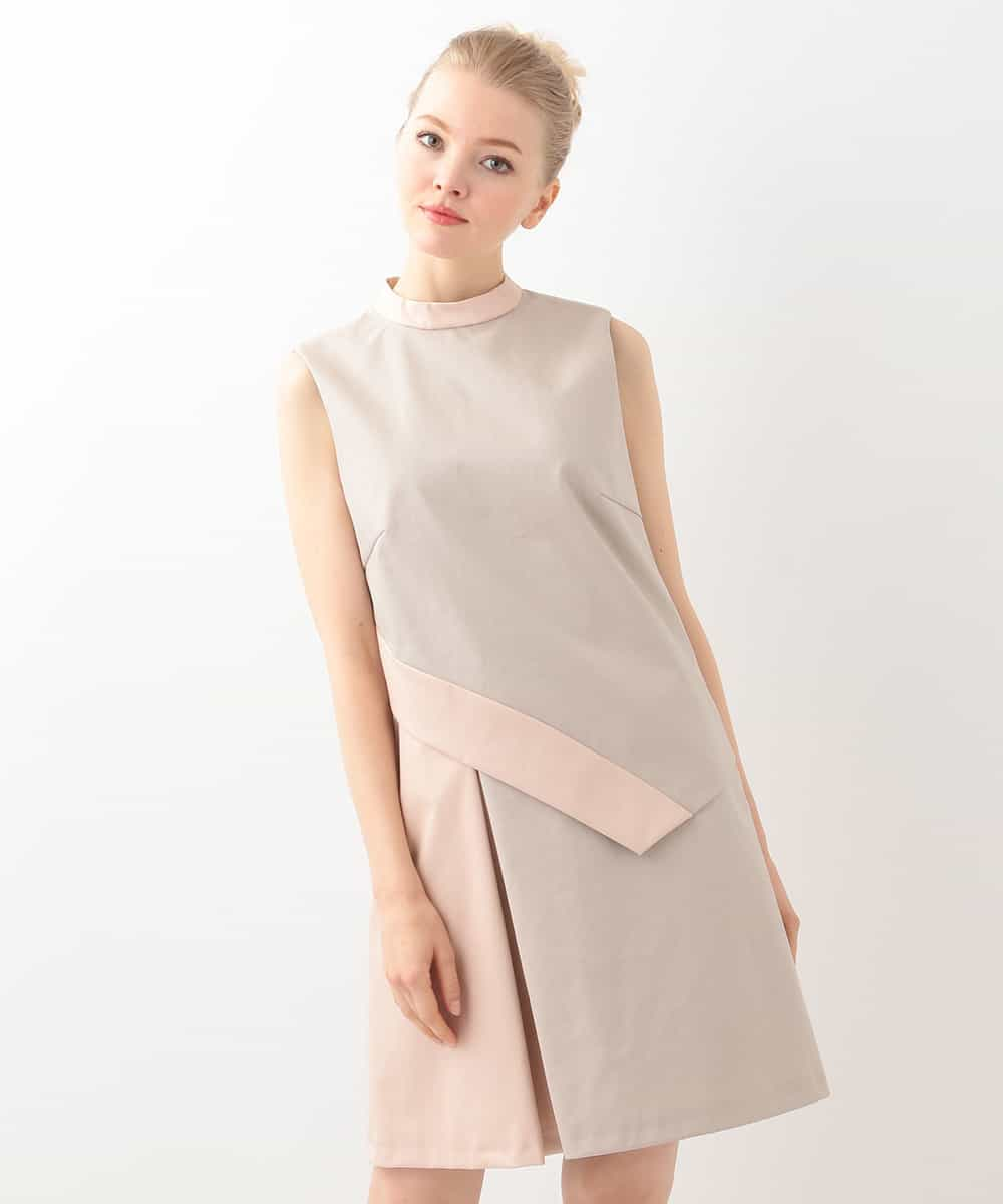 TARA JARMON(タラジャーモン)アシンメトリックデザインドレス